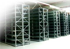 Plechové skříně, skladové prostory, regály, kartotéky - kovový nábytek do skladu.