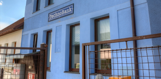 Vybavení dílen a šaten TechnoBank