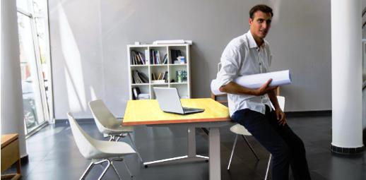 Pracovní polohovací stůl ALNAK®