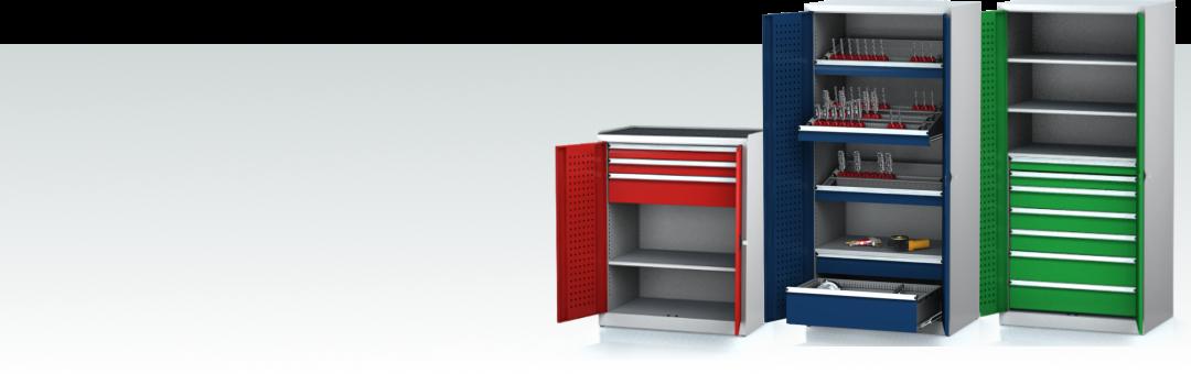 Dílenské skříně kovové - vybavení dílny