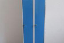 Dvoudveřová šatní skříňka AN 30 2 1 R 5012 -