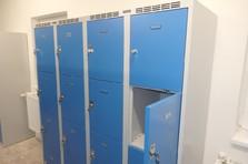 - Boxové šatní skříně pro žákovské dílny