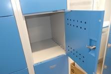 Boxové šatní skříně pro žákovské dílny