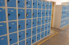 Šatní skříňky a boxy pro výrobní závod v Liberci