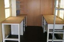 - Dílenské a jídelní stoly a židle - Velký Osek