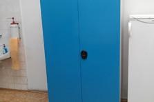 Plechová dílenská skříň - Vybavení dílny a šatny kovovým nábytkem