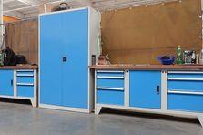 Dílenské stoly a ponky pro výrobní závod