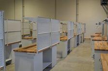 Zadní závěsné panely - Dílenské pracovní stoly ALCERA®