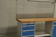 Pracovní dílenský stůl ALCERA® s kontejnerem - Dílenské pracovní stoly ALCERA®