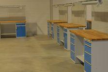 Pracovní stoly ALCERA® - Dílenské pracovní stoly ALCERA®