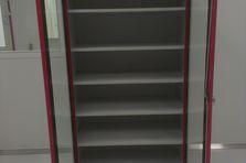 Dílenská skříň s prosklenými dveřmi - Dílenský nábytek do čistých prostor