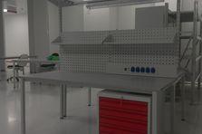 Montážní pracovní stůl - Dílenský nábytek do čistých prostor