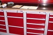 Vybavení dílny a šatny - Speciální pracoviště pro údržbu