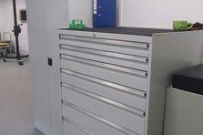Pracovní dílenské stoly a zásuvkové skříně - PROFI