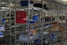 - Regály  výrobní závod v Plzni