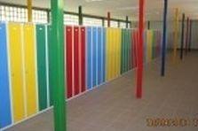 Kovové šatní skříně pro základní školy - Šatní skříně do zrekonstruovaných prostor šaten