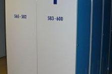 - Šatní skříně pro piloty