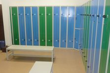 Šatní skříně Z pro fitcentrum