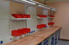 Vybavení dílny TechnoBank - Profesionální dílenské stoly jako základ vybavení dílny