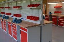Dílenské pracoviště - Profesionální dílenské stoly jako základ vybavení dílny