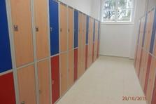 Šatní skříně pro Rudolfinum v Hradci Králové - Vybavení šaten - Rudolfinum v Hradci Králové