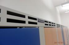 Šatní skříňky TechnoBank - Vybavení šaten - Rudolfinum v Hradci Králové