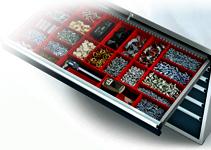 Zásuvkové dílenské skříně